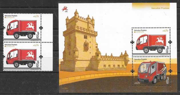 Filatelia Tema Europa Portugal 2013