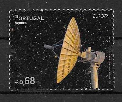 filatelia tema Europa Azores 2009
