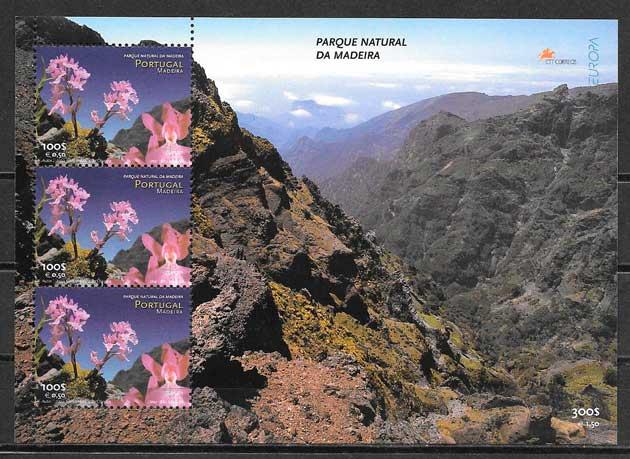 filatelia colección tema Europa Madeira 1999