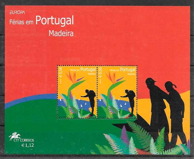 filatelia tema Europa Madeira 2004