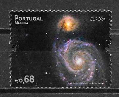 filatelia colección tema Europa Madeira 2009