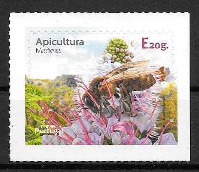 filatelia colección tema Europa Madeira 2013