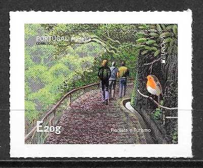 sellos tema Europa Madeira 2015