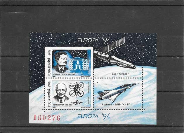 Sellos Tema Europa Rumanía La Europa de las Invenciones 1994-03