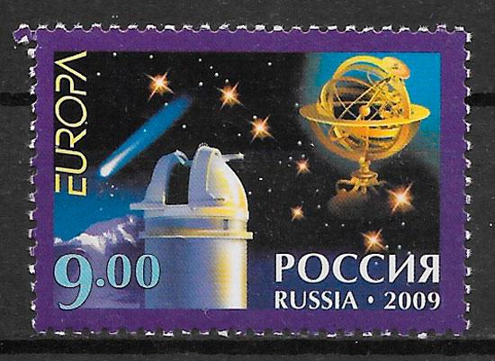colección sellos Europa Rusia 2009