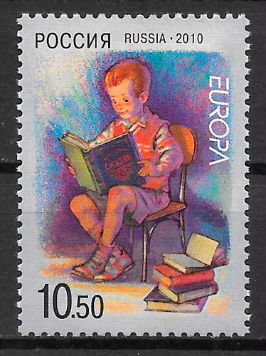 sellos Europa Rusia 2010