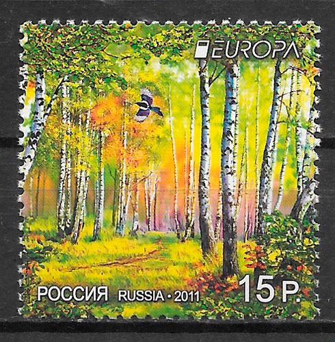 sellos Europa Rusia 2011