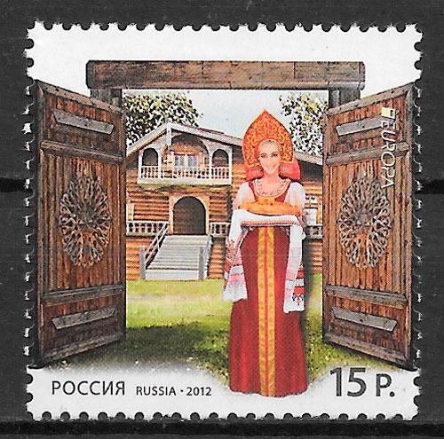 sellos Europa Rusia 2012