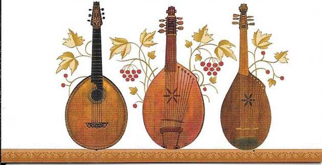 Sellos filatelia Tema Europa instrumentos musicales Ucrania-2014-09