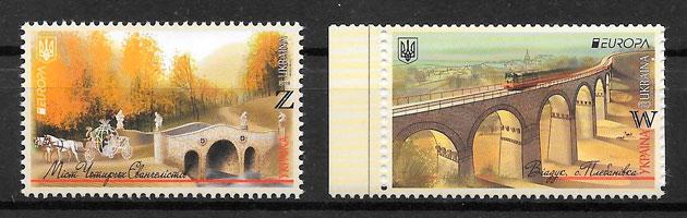 sellos Europa Ucrania 2018