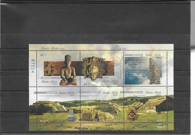 Colección sellos Patrimonio-Arqueología México