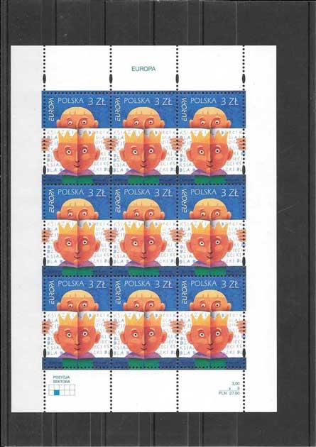 Colección sellos Tema Europa LosLibros para niños
