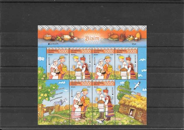 Colección sellos Tema Europa Turismo hoja y Mini Pliegos