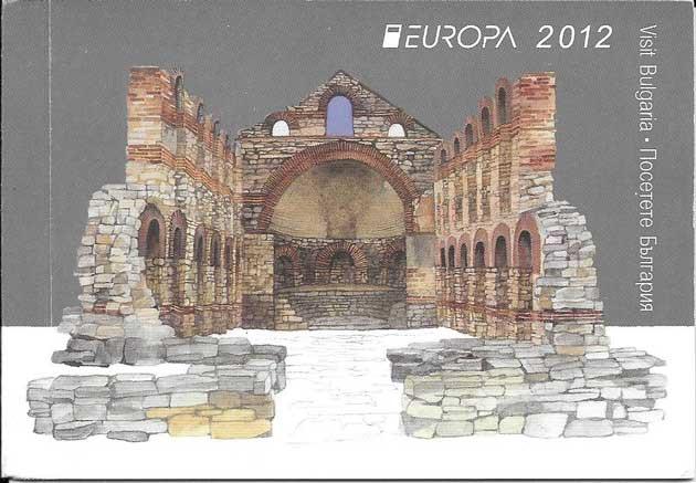 Sellos Tema Europa Carnet Turismo Bulgaria