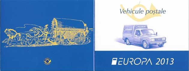 Estampillas Tema Europa Carnet Transporte Moldavia