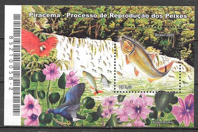 sellos fauna Brasil 2005