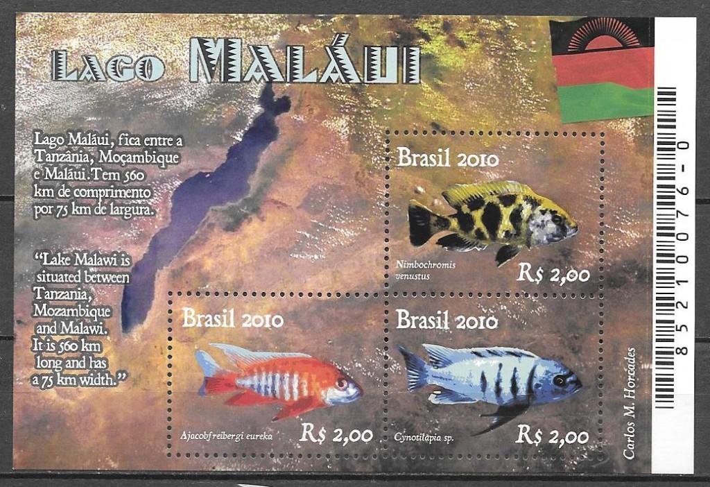 sellos fauna Brasil 2010