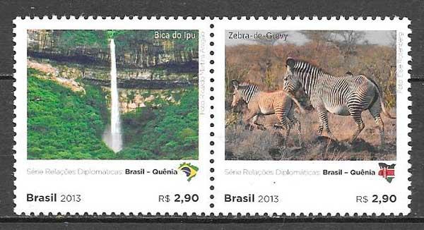 sellos fauna Brasil 2013