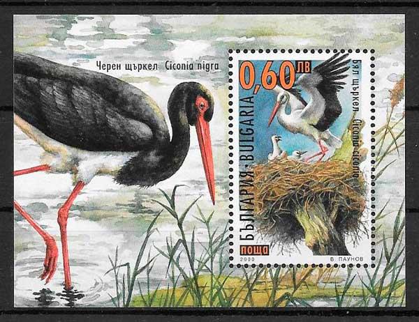 sellos fauna Bulgaria 2000