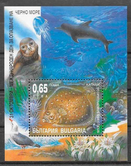 filatelia fauna Austria 2001