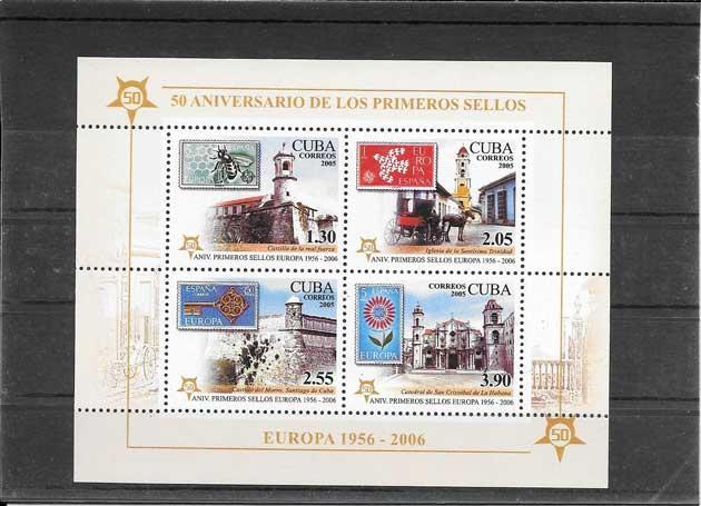 Estampillas Cuba-2005-02