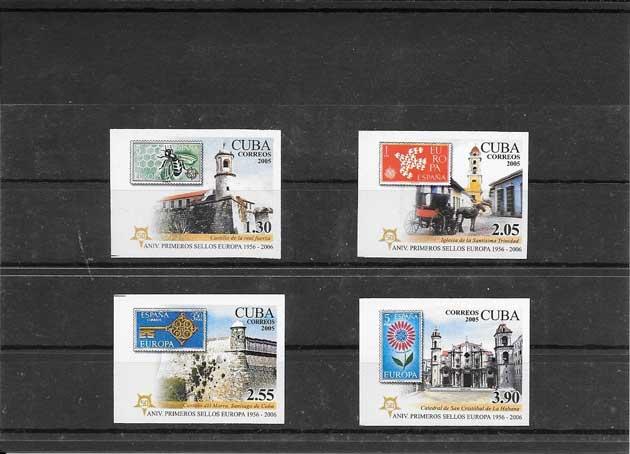 Estampillas Cuba-2005-03