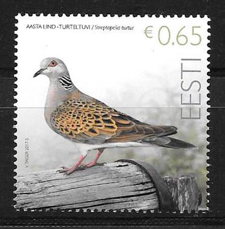 filatelia fauna Estonia 2017