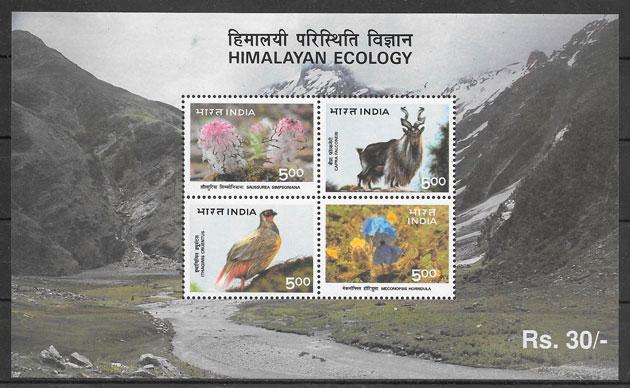 sellos fauna India 1996