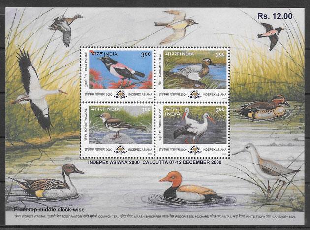 sellos fauna India 2000