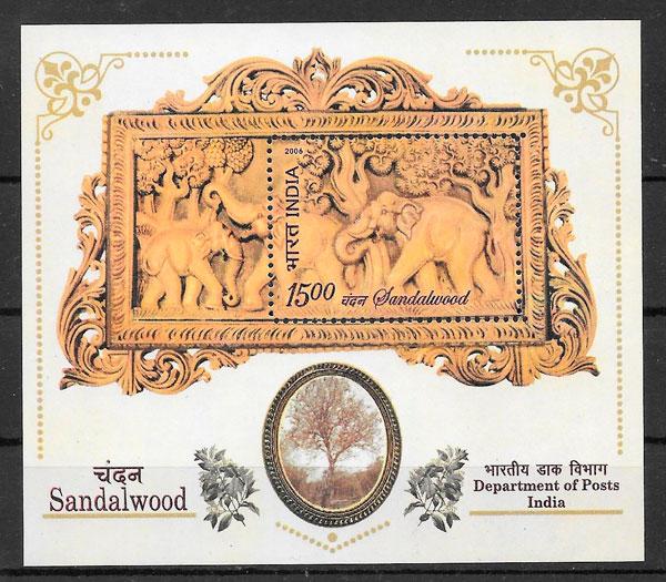 sellos fauna India 2006