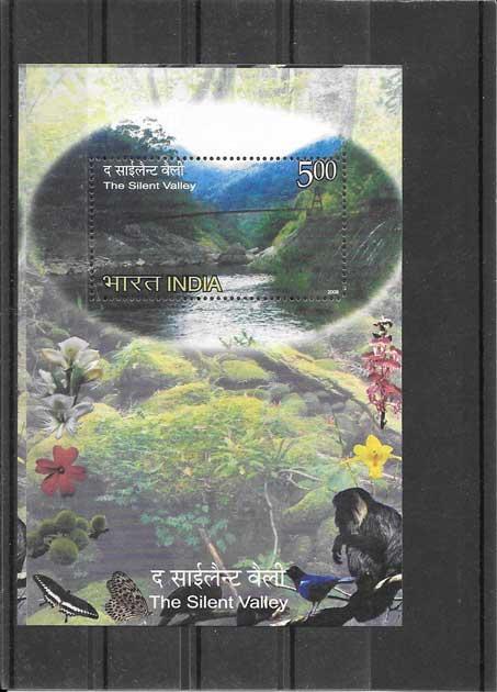 Colección sellos hojita parques naturales