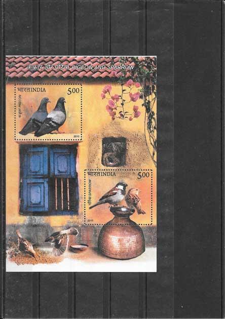 Sellos  fauna India-2010-03