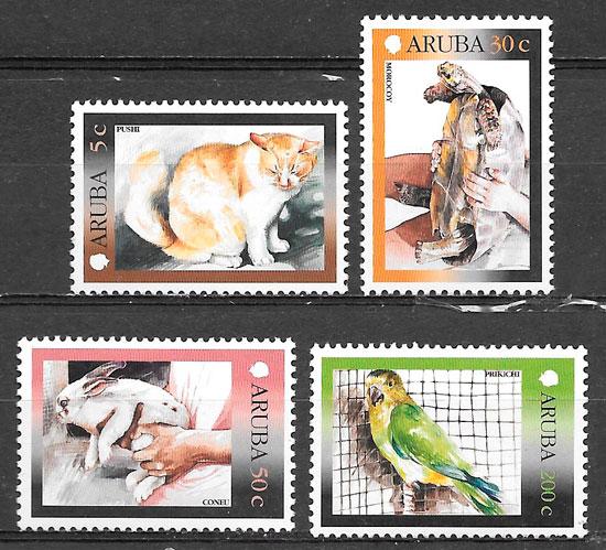 sellos fauna Aruba 2001