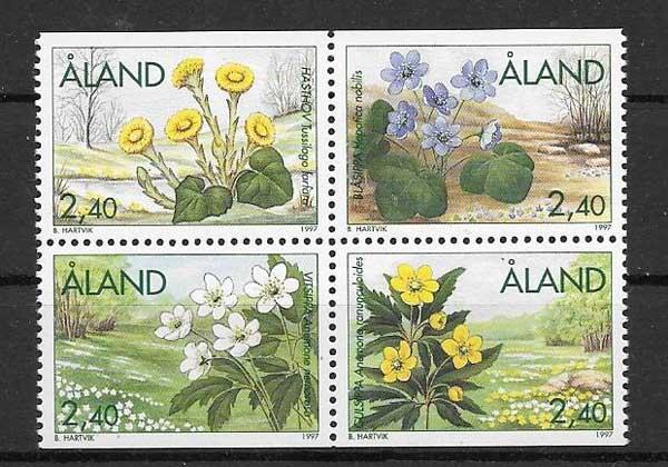 Sellos Diversidad de flora 1997