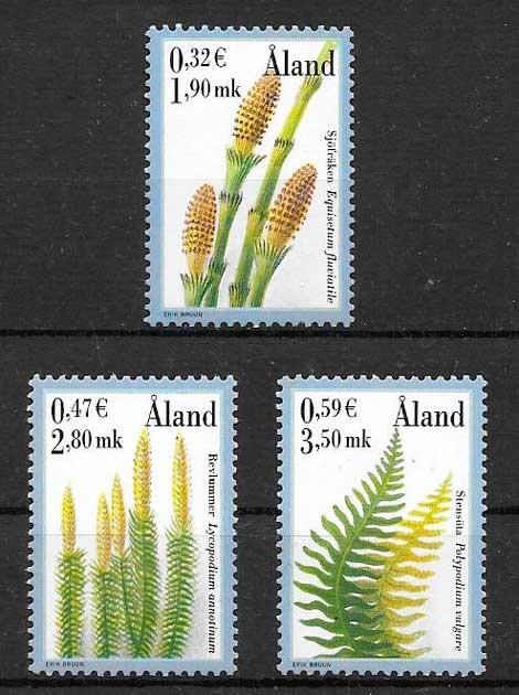 sellos flora Aland 2001