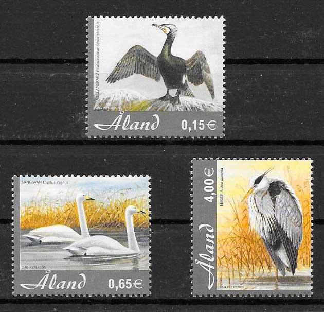 sellos fauna Aland 2005