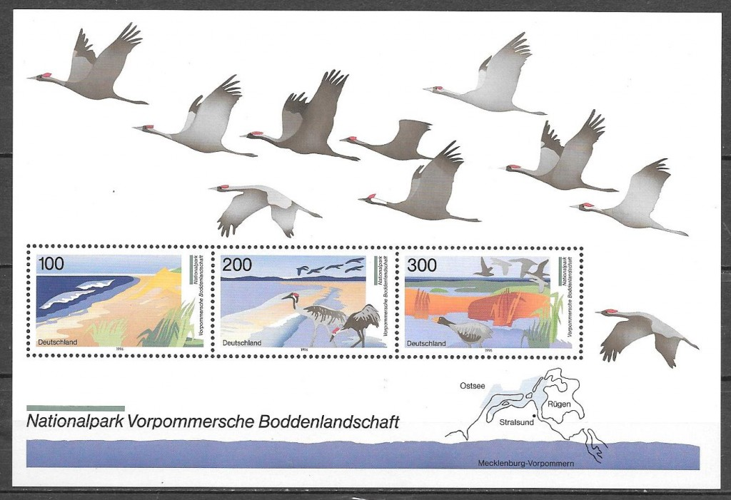 sellos parques naturales Alemania 1996