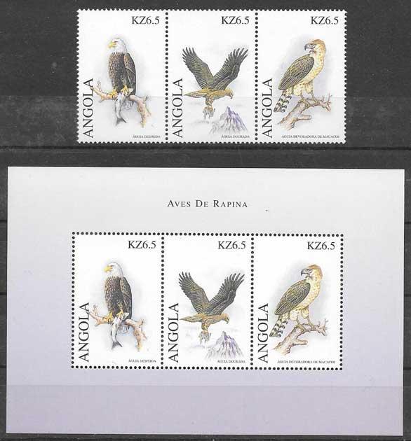 sellos fauna Angola