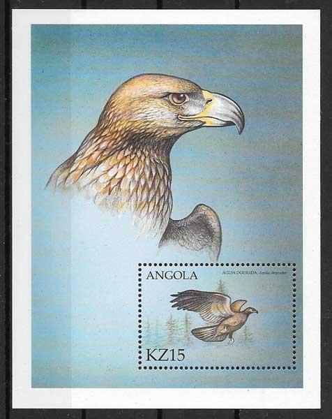 Filatelia fauna Angola 2000