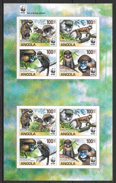 sellos fauna wwf Angola