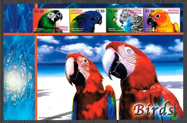 sellos fauna Antigua 2003