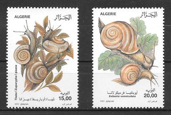 sellos fauna Argelia 2012