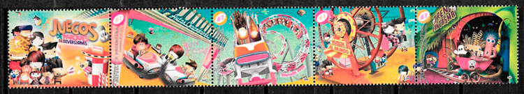 sellos trenes Argentina 2009