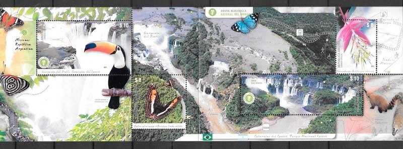 sellos fauna y flora Argentina 2014