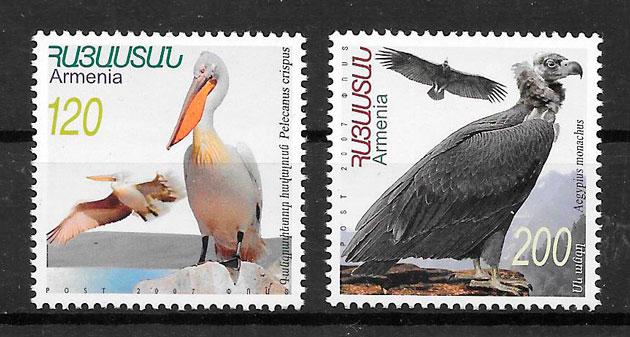 sellos fauna Armenia 2007
