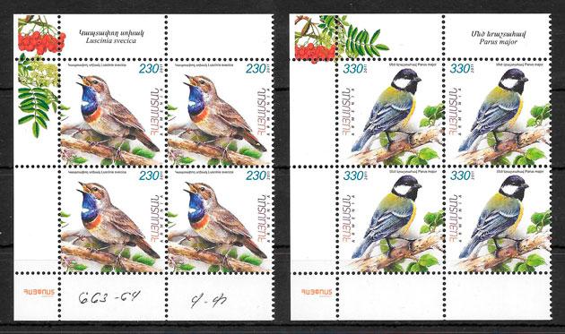 sellos fauna Armenia 2011