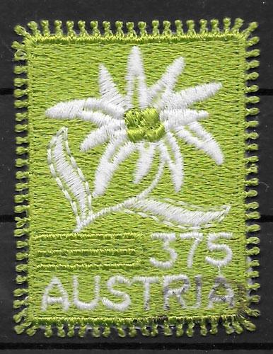 filatelia colección flora AUSTRIA 2005