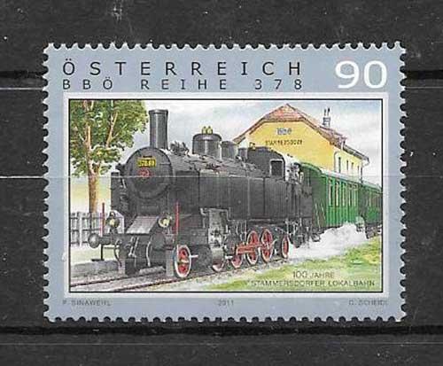 Filatelia sellos Austria-2011-01