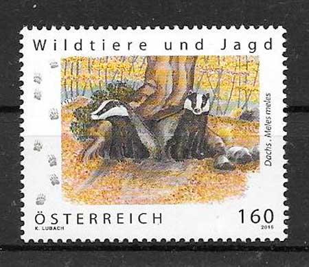 sellos fauna Austria 2016