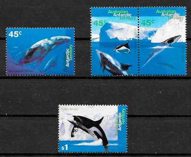 filatelia colección Australia Territorio Antártico 1995